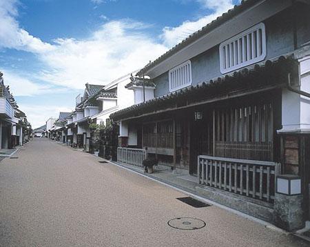 蓝染富商炫富的痕迹  德岛的胁町老街