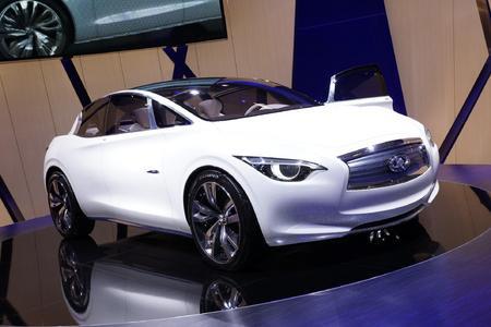 英菲尼迪正在开发的小型车将使用戴姆勒的平台