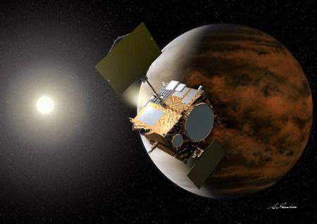 """日本""""晓""""号探测器未获得预想推力 无法进入环绕金星轨道"""
