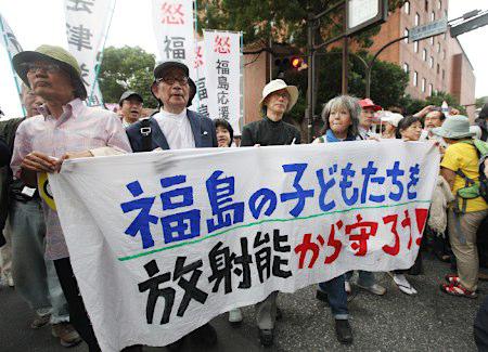 日本爆发大规模反核集会游行活动 要求废止所有核电站