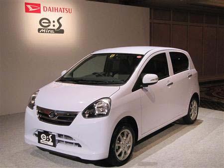"""日本燃效最高的汽油车大发""""MIRA e:S""""发售"""