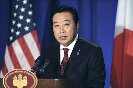 野田佳彦表示将全力说服冲绳县理解普天间机场迁移方案