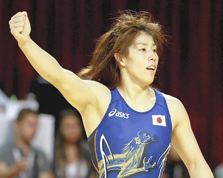 摔跤世锦赛第四天 吉田沙保里实现九连霸