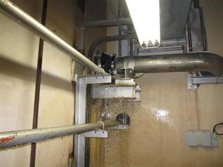 强台风洛克袭击日本 福岛核电站机组地下室进水