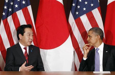 美日首脑首次会晤后 奥巴马对野田佳彦赞赏有加