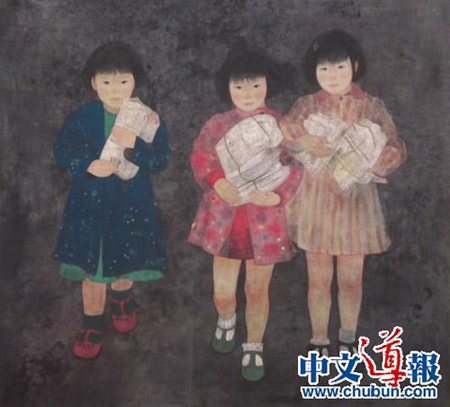 旅日华人女画家作品入选日本最高级别画展