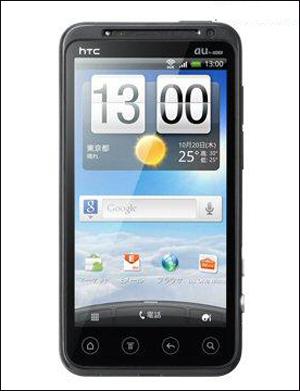 KDDI秋冬新品 HTC首款裸眼3D手机将上市