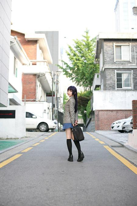《俺妹》黑猫爆萌人偶般cos美图