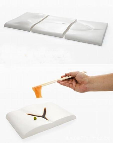 日本变态人体餐具 让你吃得下咽不下