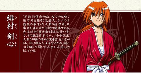 日本网友最爱十大脸上有疤的动漫角色 剑心第一路飞第五