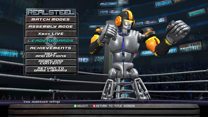 PS3/Xbox360下载版10月格斗新作《铁甲钢拳》
