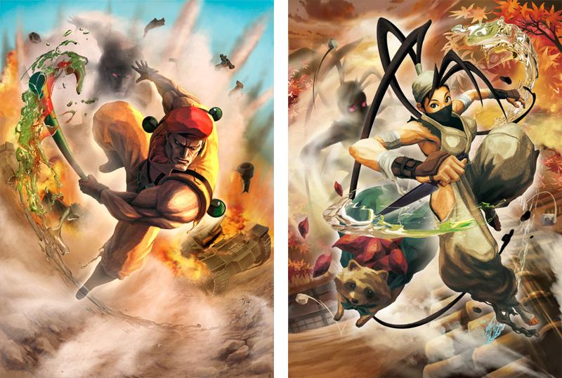 《街霸X铁拳》四名新参战角色的视频以及PSV版的最新PV