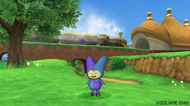 Wii《勇者斗恶龙10 觉醒的五种族 Online》世界观及最新画面