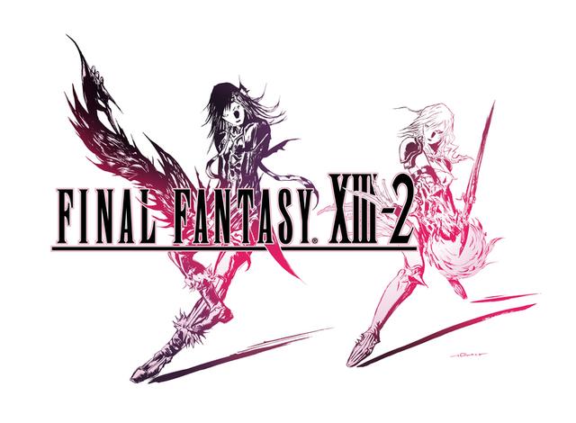 《最终幻想XIII-2》e-Store诺尔限量武器灾难之剑