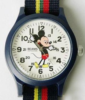 """日本版""""Mickey Mouse"""" 表款新品"""