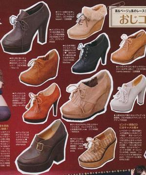 秋季稳重感高跟鞋正流行!