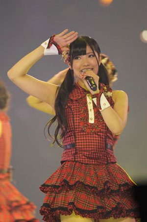 AKB48迷你演唱会精彩图片欣赏