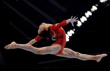2011年体操世锦赛女团决赛 美国队独领风骚