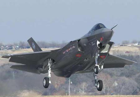 洛马公司表示可授权日本生产F35战机发动机