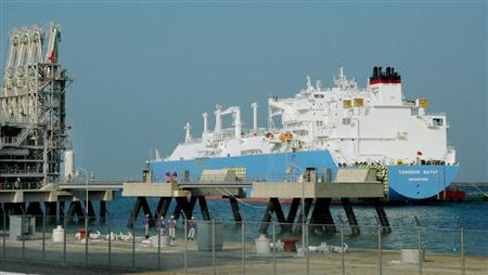 日本中部电力迎来首艘LNG船