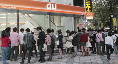 日本开始iPhone4S销售预约