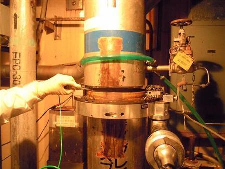 东电切断管道防止氢气爆炸