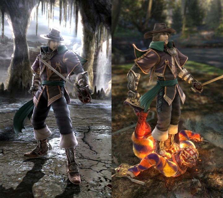 PS3 Xbox36 刀魂5 最新3名角色信息公布