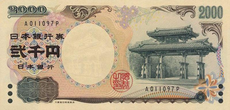 日本货币种类