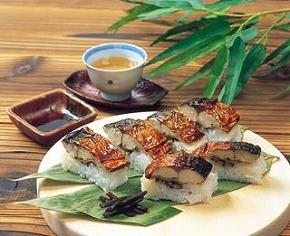 烤青花鱼寿司
