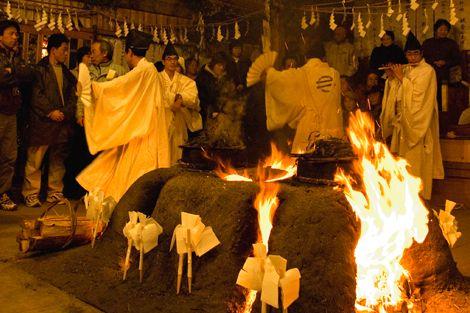 远山乡的霜月祭