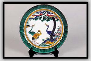 九谷烧陶瓷
