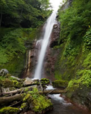飞騨小坂的瀑布