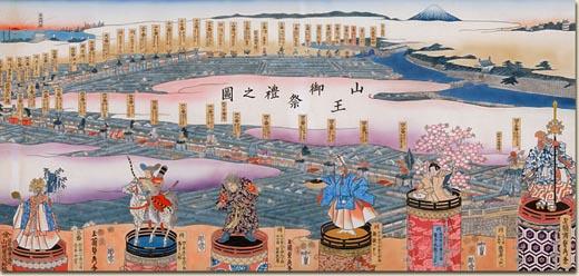 日枝神社大神祭(山王神祭/富山市)