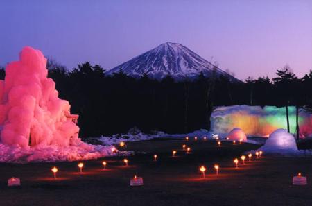 山梨西湖树冰节(1月28日~2月5日)