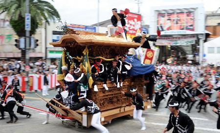 岸和田花车祭