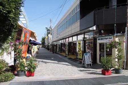 青岛参道商业街