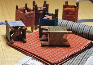 纯手织的福岛捻线绸制品