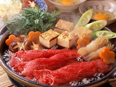 日本寿喜烧与涮涮锅