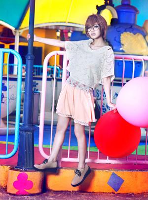 超萌萝莉大石参月梦幻游乐园甜美大片(1)