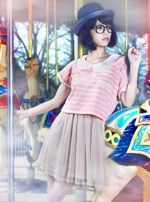 超萌萝莉大石参月梦幻游乐园甜美大片(2)