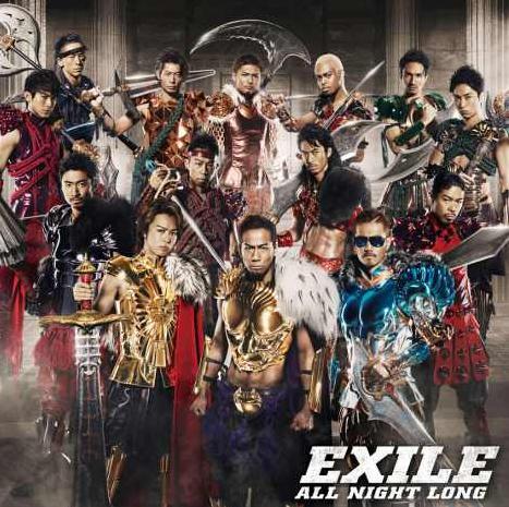 EXILE发布新单曲 展现霸气新造型