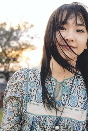 天使般的纯洁笑容——新垣结衣