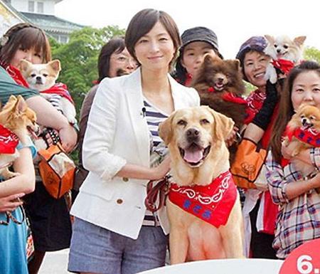SMAP香取慎吾与狗狗的特别PR活动
