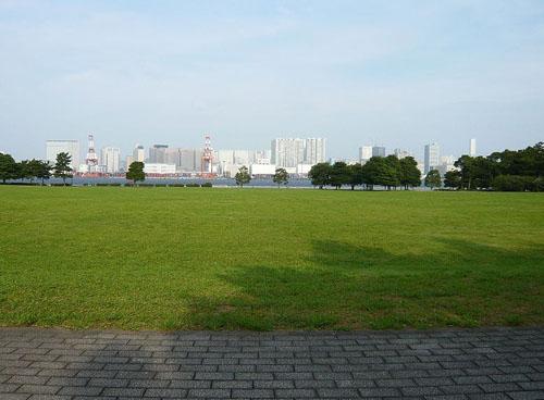 漫步在潮风海边公园