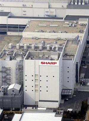 夏普将向鸿海提供液晶面板技术