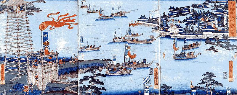 备中高松城之战