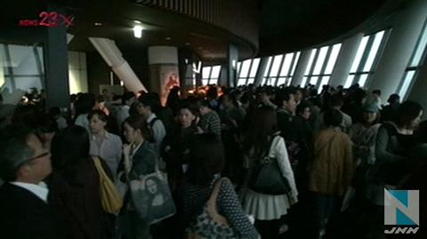 东京晴空塔开业初日受暴风影响天望回廊暂停营业