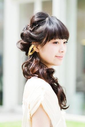 夏季的少女情怀 甜美风编发(一)