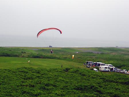 太平山滑翔机飞行