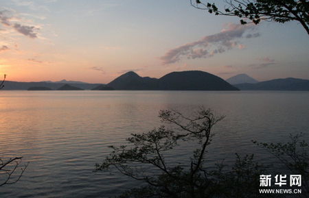 北海道如诗如画洞爷湖